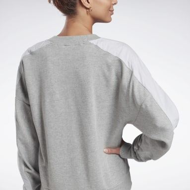 Kvinder Fitness & Training Grey MYT Crew Sweatshirt