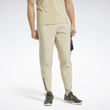 Men Training Beige Edgeworks Pants