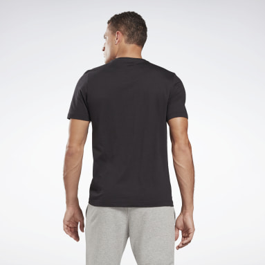 Vector Graphic Tee Negro Hombre Fitness & Training