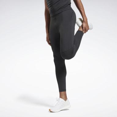 Men Terrengløping Black Running Essentials Speedwick Tights