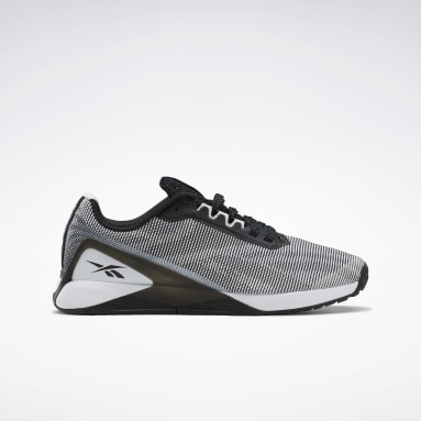 Men Cross Training White Nano X1 Grit Shoes