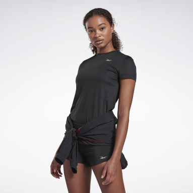 T-shirt Running Essentials noir Femmes Course