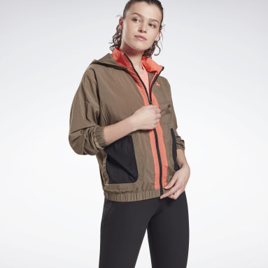 Women Training Grey MYT Woven Jacket