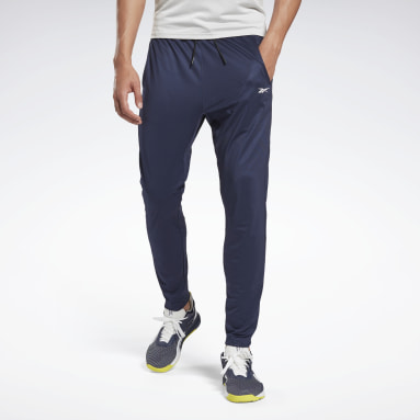 Pantalón Deportivo Trackster Workout Ready Azul Hombre Fitness & Training