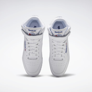 Men Classics White EX-O-FIT Hi Men's Shoes