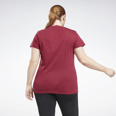 T-shirt Graphic Vector (Grande taille) Rose Femmes Fitness & Training