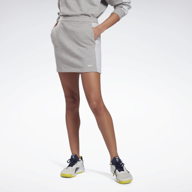 Women Fitness & Training Grey MYT Skirt