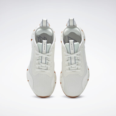 Women Classics White Zig Dynamica Shoes