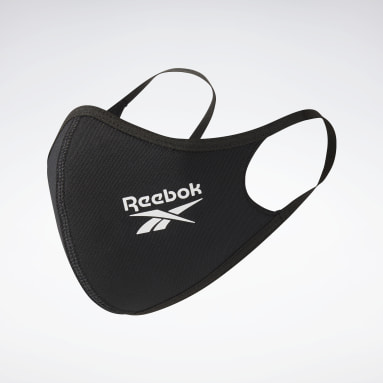 Fitness & Training Black Face Covers 3-Pack XS/S - Not For Medical Use