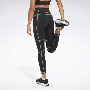 Mallas de corte alto Workout Ready Detail Negro Mujer Fitness & Training