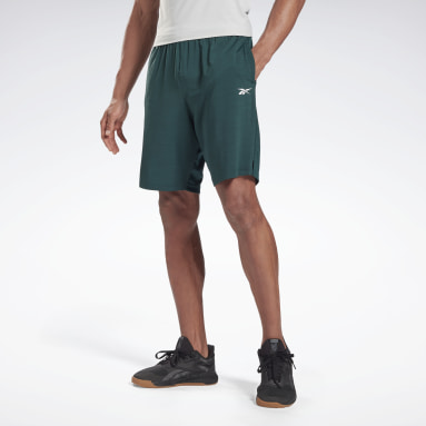 Men Fitness & Training Green Workout Ready Activchill Shorts