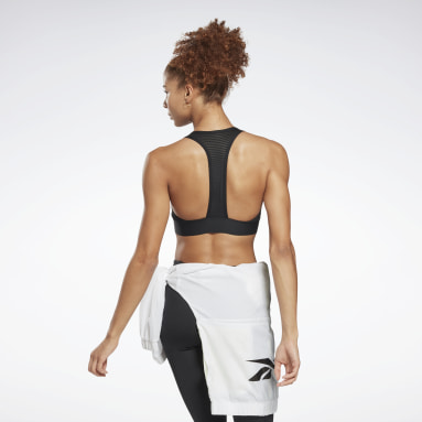 Top Deportivo Workout Ready High Neck Negro Mujer Fitness & Training