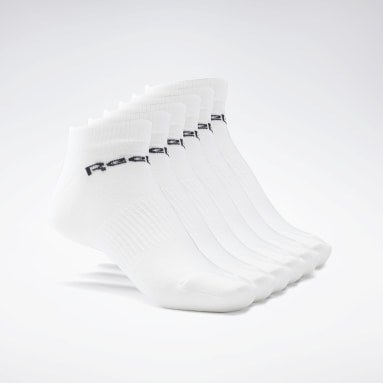 Dance White Active Core Low-Cut Socks 6 Pairs