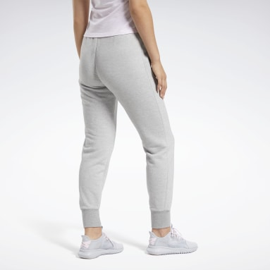 Women Fitness & Training Grey Training Essentials Logo Pants