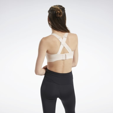 Women Studio Pink Reebok PureMove+ Bra Motion Sense ™