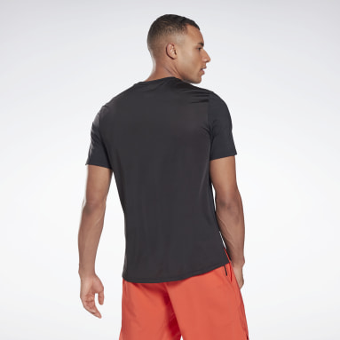 Men Training Black Activchill Move T-Shirt