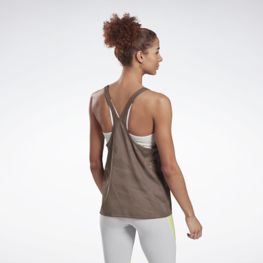 Camiseta sin mangas Perforated Gris Mujer Ciclismo