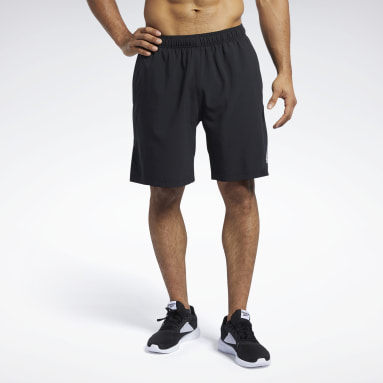 Men CrossFit Black Reebok CrossFit® Austin II Solid Shorts