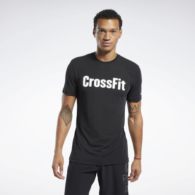 Men CrossFit Black Reebok CrossFit® Read Tee