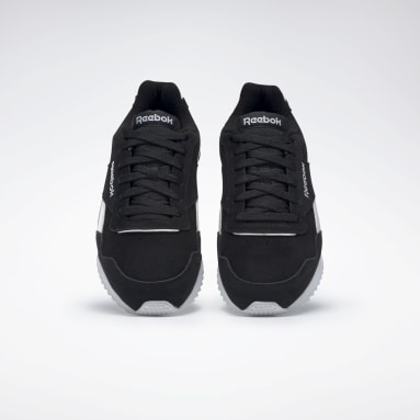 Men Classics Black Reebok Royal Glide RPL