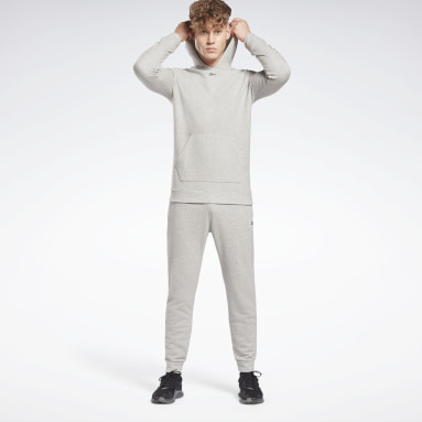Men Fitness & Training Grey Training Essentials Vector Track Suit