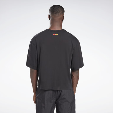Classics Black Reebok by Pyer Moss Short Sleeve Sankofa T-Shirt
