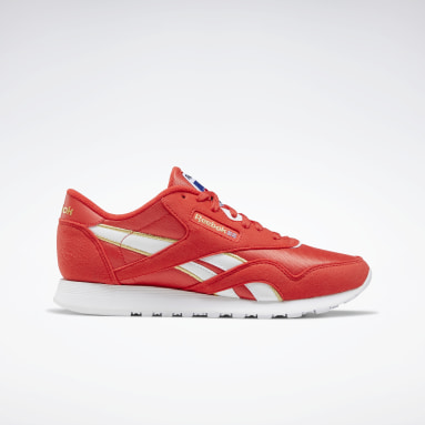 Women Classics Red Classic Nylon Women's Shoes