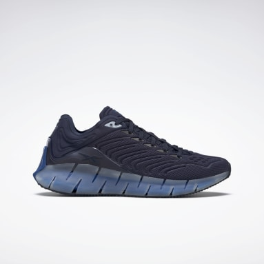 Classics Blue Zig Kinetica Shoes