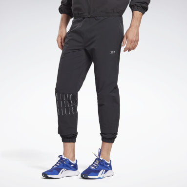 Studio Black LES MILLS® Woven Tracksuit Bottoms