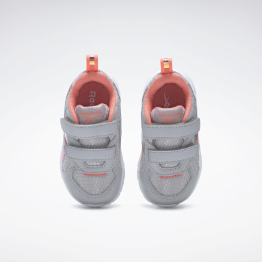 Girls Running Grey Reebok XT Sprinter Shoes - Toddler