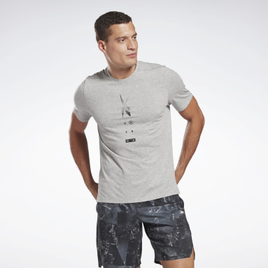 Men Training Grey Speedwick Move T-Shirt