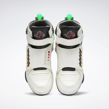 Men Classics White Ghostbusters Ghost Smashers Men's Shoes