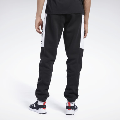 Men Classics Black Classics Linear Pants