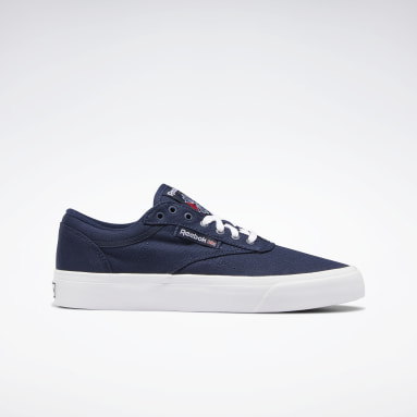 Zapatillas Club C Vulcanised Azul Classics