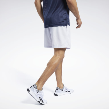 Training White Woven Shorts