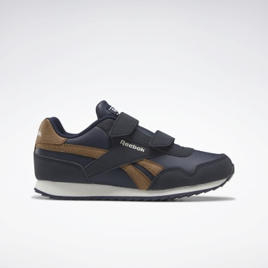 Boys Classics Blue Reebok Royal Classic Jogger 3 Shoes