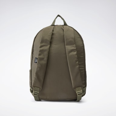 Training Green Linear Logo Backpack