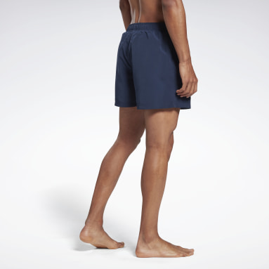 Men Swimming Blue Reebok Winton Swim Shorts