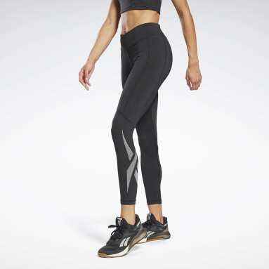 Frauen Yoga Workout Ready Vector Leggings Schwarz