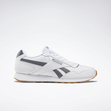 Men Classics White Reebok Royal Glide LX Shoes