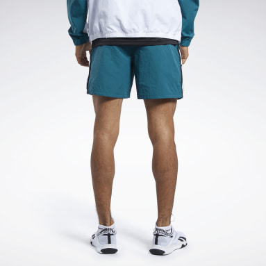 Men Training Turquoise Meet You There Shorts