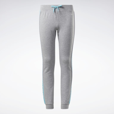 Pantalon de jogging logo Reebok Gris Filles Fitness & Training
