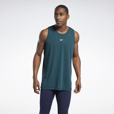 Men Studio Green Les Mills® Bodycombat® Supremium Graphic Tank Top