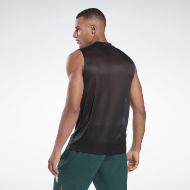 Musculosa Workout Ready Activchill Negro Hombre Fitness & Training