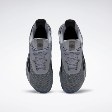 Men Cross Training Grey Nano X Hero Shoes