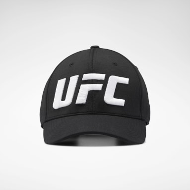 Fitness & Training Black UFC Logo Baseball Hat