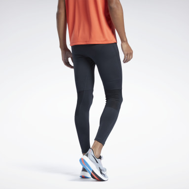 Men Running Black Running Essentials Speedwick Tights