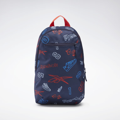 Kids Classics Blue Allover Print Backpack Small
