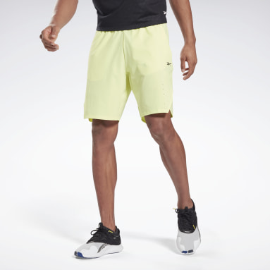 Men Studio Yellow Les Mills® Epic Shorts
