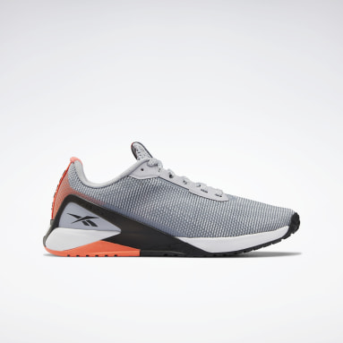 Men Training Grey Nano X1 Grit Shoes